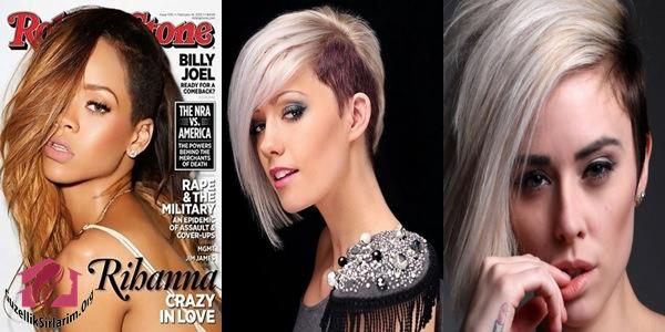 kazıtılmış saç kesim modelleri