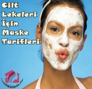 cilt lekeleri için maske tarifleri