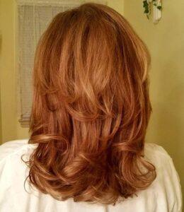 kızıl saç saç kesim modeli