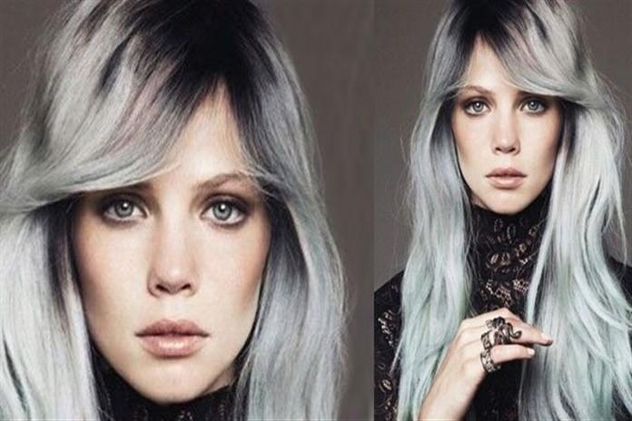 Gri Balyaj Ve Gri Balyajlı Saç Modelleri Gri Saç Rengi Ve Gri