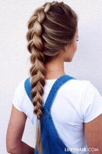 genç kız okul saç modelleri