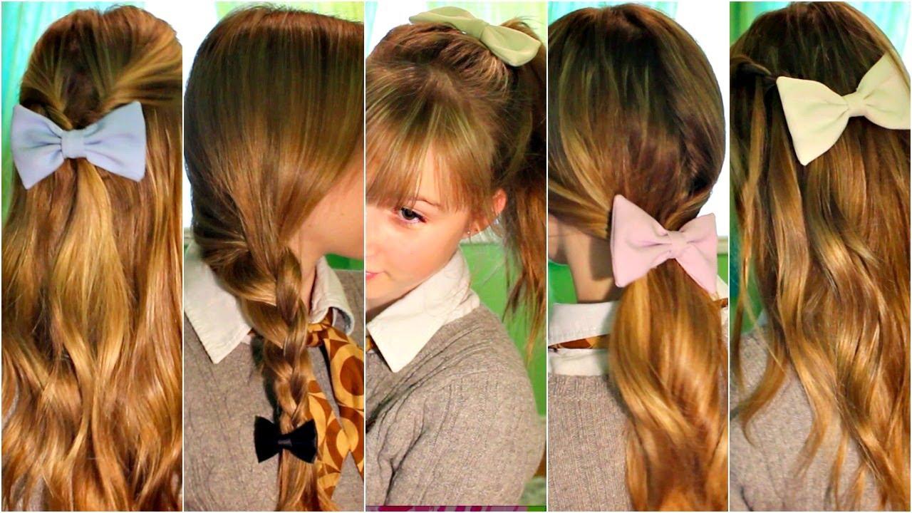 Lise için saç modelleri ve yapılışları resimli