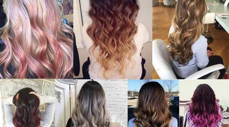 en güzel ombre saç modelleri 2018