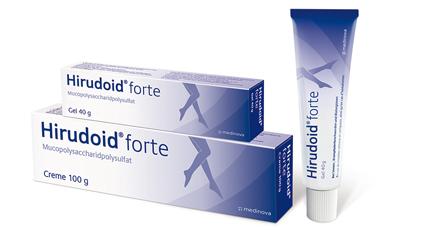 hirudoid forte jel ile travma tedavisi