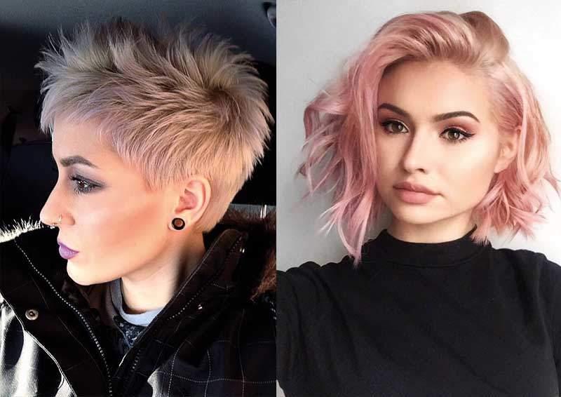 kısa saçlar için ombre saç modelleri