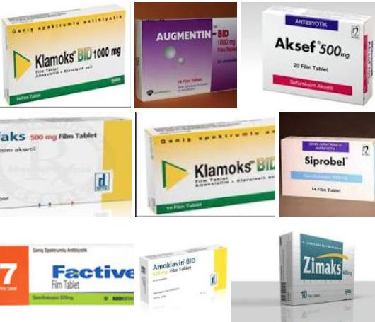 faranjite iyi gelen antibiyotik ilaçlar