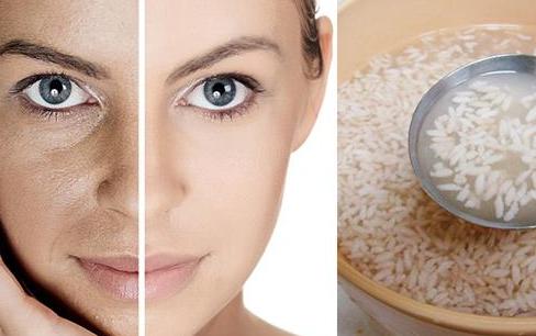 pirinç suyu cilt beyazlatma